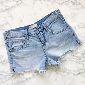 Free People | Denim Festival Cutoff Shorts Sz 25